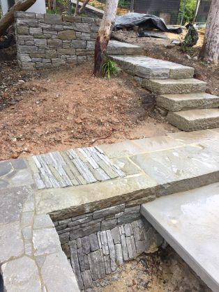 SOLIDstone entrance pathway