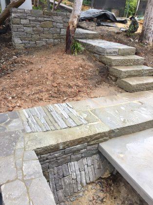 SOLIDstone entrance pathway